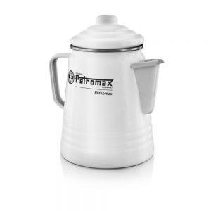 Petromax Perkomax Kaffee Perkolator weiß