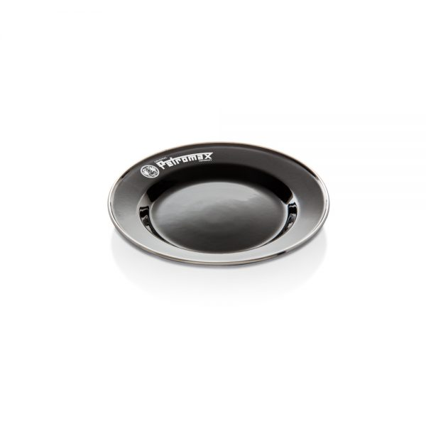 Petromax Emaille Teller schwarz