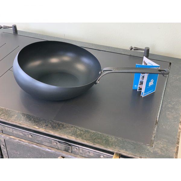 BK Cookware Wokarang Pure Steel
