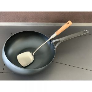 BK Cookware Wokarang mit Pfannenwender