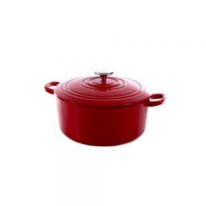 BK Cookware Bourgogne Bräter Chili Red 24cm