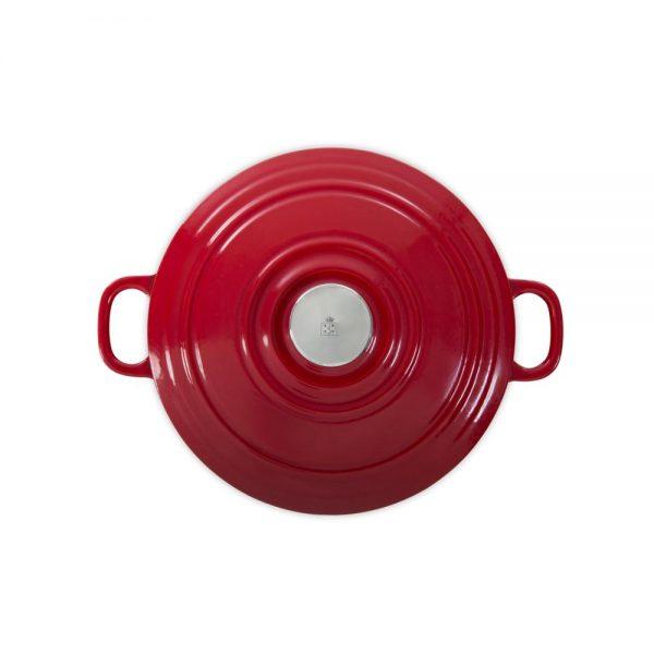 BK Cookware Bourgogne Bräter Chili Red 28cm
