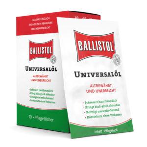 Ballistol Universalöl Tücherbox