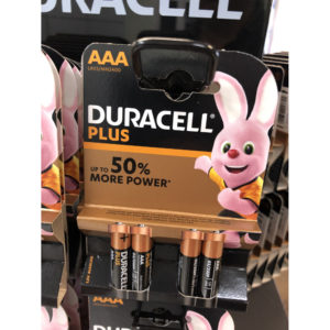 Duracell Micro AAA, 4er Pack
